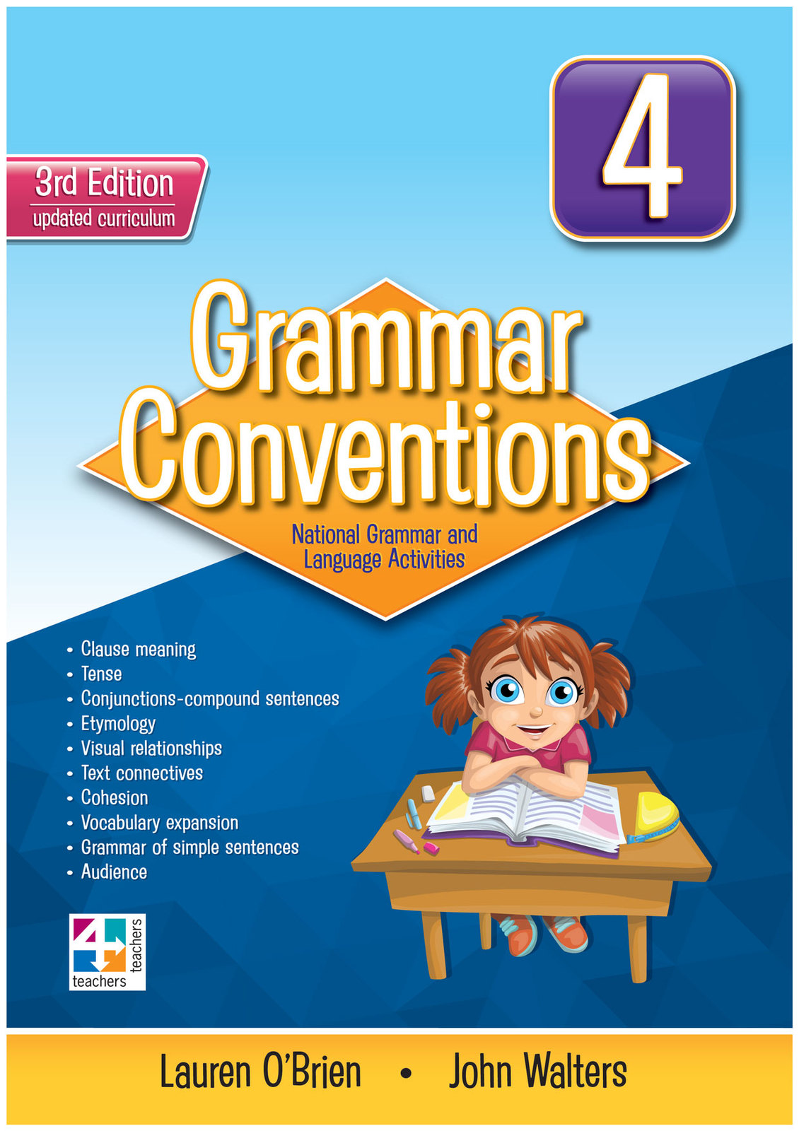 grammar conventions - third edition  year 4
