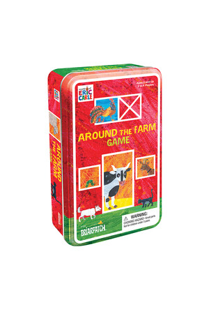 The World of Eric Carle - Around the Farm Game Tin