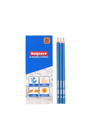 Belgrave Hexagonal 2B Pencils - Pack of 20