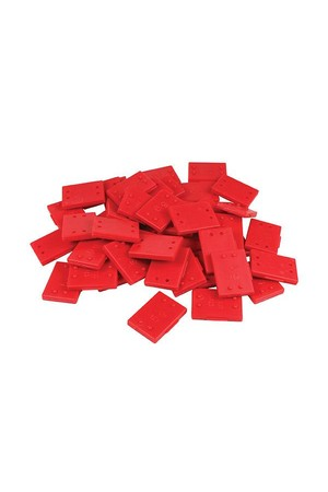 Weight Plastic - 5g Red