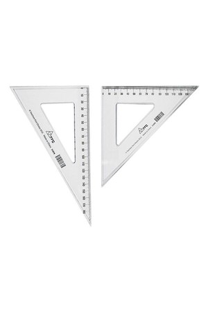 Set Squares - Set 140mm Pair