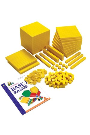 MAB Base Ten - Student Set (Yellow)