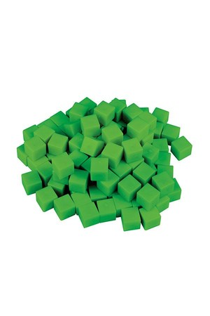 MAB Base Ten - Units (Green)