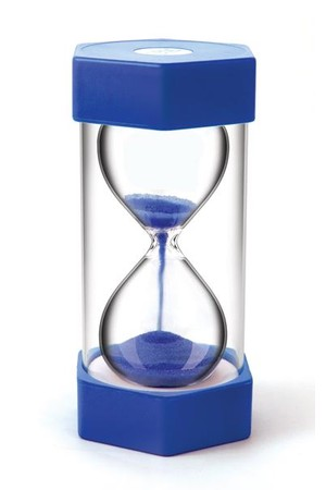 Sand Timer - Giant 5 Minutes (Blue)
