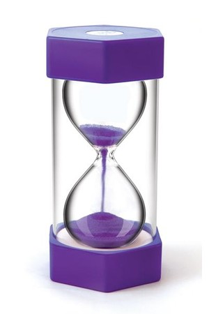 Sand Timer - Giant 15 Minutes (Purple)