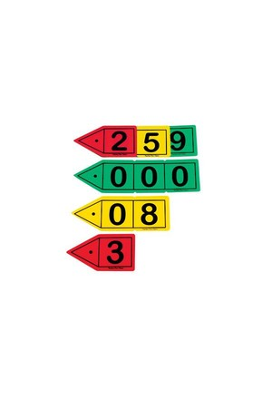 Place Value - Arrows: Decimal