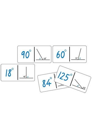 Dominoes - Angle Calculation: Set B