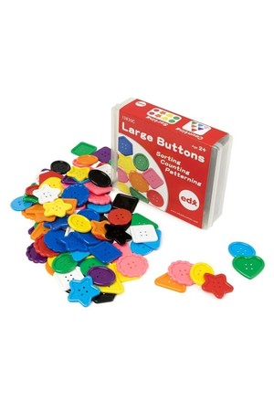 Large Buttons (Assorted) - Set of 90