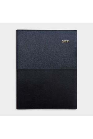 Collins Vanessa A4 Diary 2021 - Black (Daily)