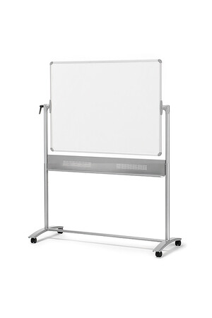 Nobo - Mobile Reversible Magnetic Whiteboard (1500 x 1200mm)