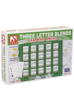 COKO - Three Letter Blends (20 Pieces)