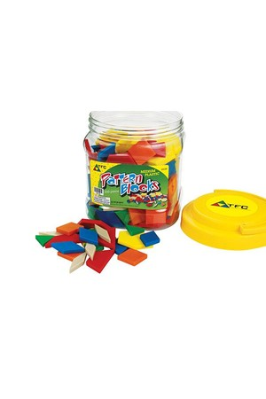Pattern Blocks - Medium Plastic