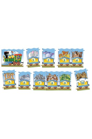 21 Piece Education Puzzle - Train