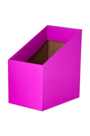 Book Box (Pack of 5) - Fluoro Magenta