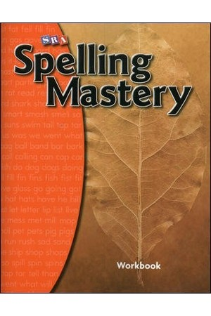 Spelling Mastery - Level A (Year 1): Student Workbook