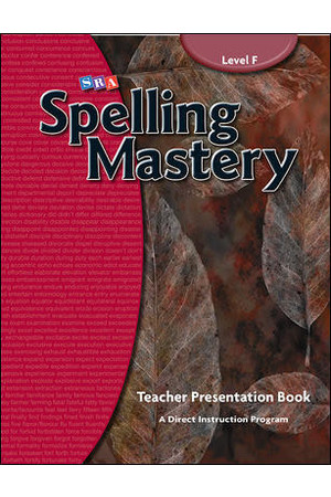 Spelling Mastery - Level F (Year 6): Teacher Materials