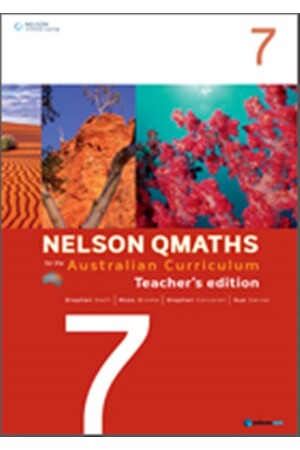 Nelson QMaths for the Australian Curriculum - Year 7: Teachers' Edition