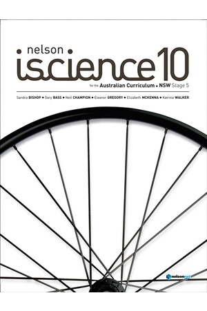 Nelson iScience for NSW - Year 10: Student Book with 4 Access Codes