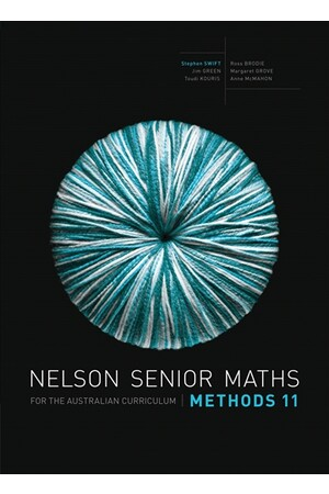 Nelson Senior Maths Methods for the Australian Curriculum - Year 11: Solutions DVD