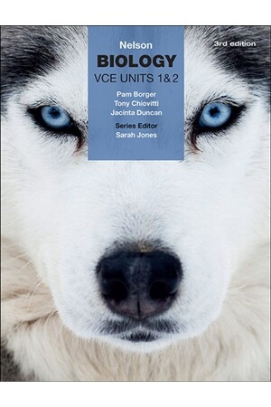 Nelson Biology: VCE Units 1 & 2 - Student Book with 4 Access Codes (3rd Edition)