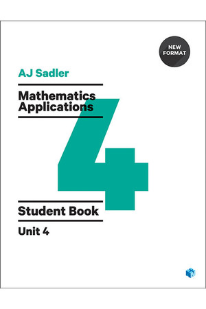Sadler Mathematics Applications for WA - Unit 4: Student Book (Print & Digital)