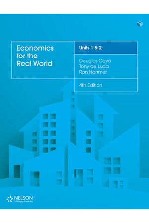 Economics for the Real World - Units 1 & 2: Student Book (Print & Digital)