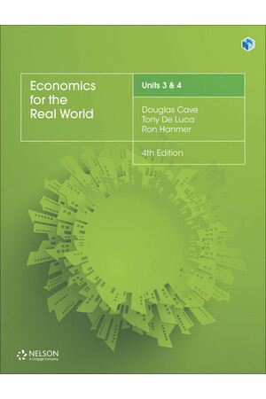 Economics for the Real World - Units 3 & 4: Student Book (Print & Digital)