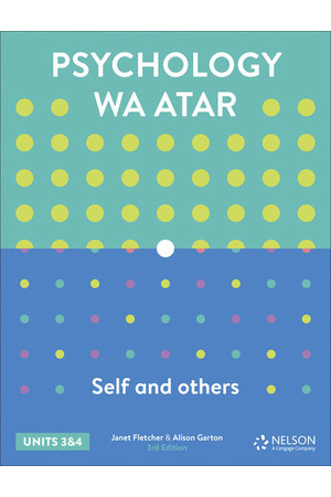 Psychology: Self and Others WA ATAR - Units 3 & 4: Student Book (Print & Digital)