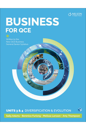 Business for QCE Units 3 & 4 - Diversification and Growth: Student Book (Print & Digital)