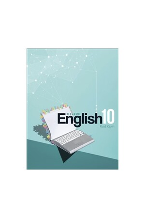 Nelson English 10 - Student Book with 1 Access Code for 26 Months (Print & Digital)