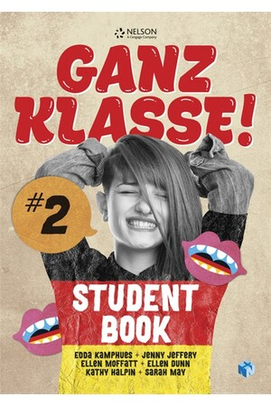 Ganz Klasse! 2 - Student Book with 1 Access Code for 26 Months (Print & Digital)