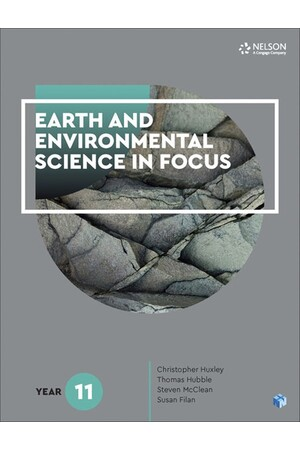 Earth and Environmental Science in Focus Year 11 Student Book - with 1 Access Code for 26 Months