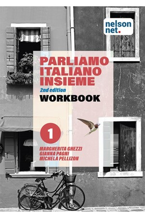 Parliamo italiano insieme Level 1 - Workbook with 1 x 26 month NelsonNetBook access code