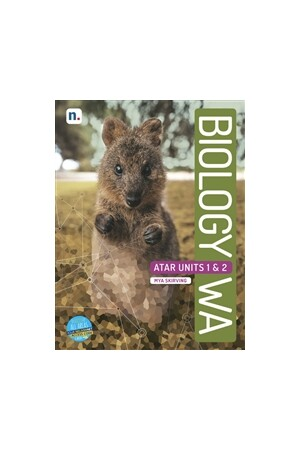 Biology WA ATAR: Units 1 & 2 - Student Book with 1 x 26 month NelsonNetBook access code (Print & Digital)