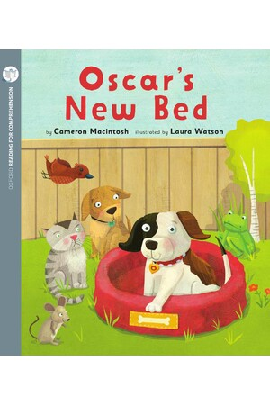 Oxford Reading for Comprehension - Level 1+: Oscar's New Bed (Pack of 6)