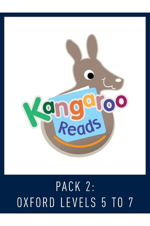 Kangaroo Reads Pack 2: Oxford Levels (5-7)
