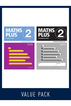 Maths Plus Australian Curriculum - Student and Assessment Value Pack: Year 2