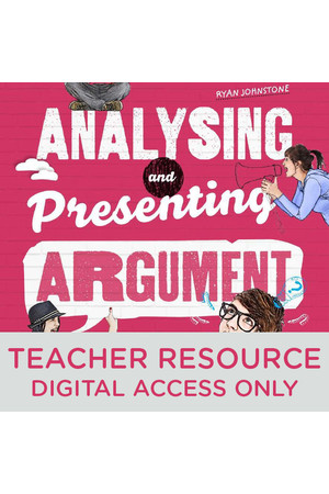 Analysing and Presenting Argument - Teacher obook/assess (Digital Access Only)