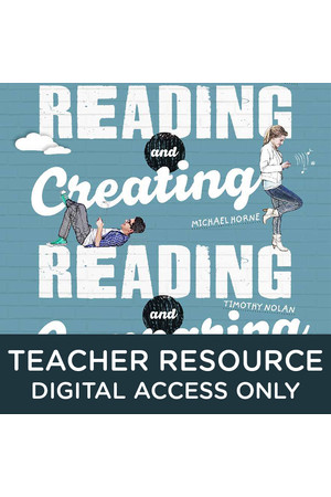 Reading and Creating / Reading and Comparing - Teacher obook/assess (Digital Access Only)