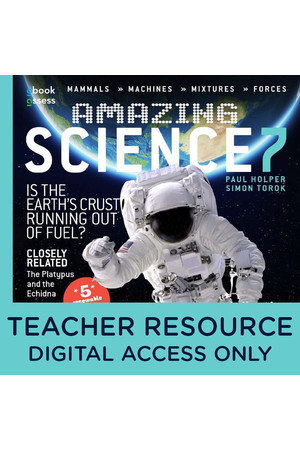 Amazing Science Australian Curriculum: Year 7 - Teacher obook/assess (Digital Access Only)