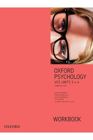 Oxford VCE Psychology - Units 3+4: Workbook (Print)