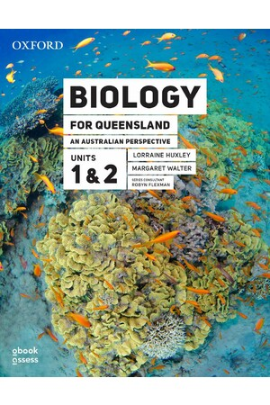 Biology for Queensland An Australian Perspective Units 1 & 2 (Third edition) Student book + obook assess