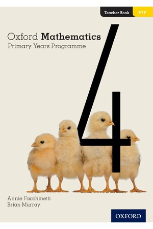Oxford Mathematics Primary Years Programme - Teacher Book: Year 4
