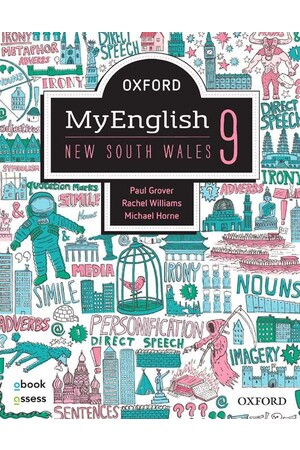 Oxford MyEnglish 9 NSW - Student book + obook assess (Print & Digital)