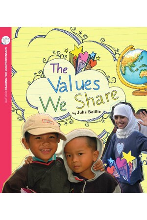 Oxford Reading for Comprehension - Level 5: The Values We Share (Pack of 6)