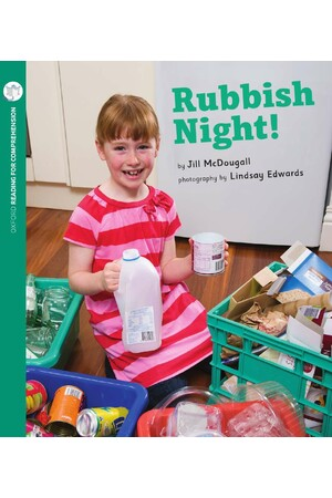 Oxford Reading for Comprehension - Level 5: Rubbish Night (Pack of 6)