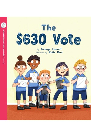 Oxford Reading for Comprehension - Level 10: The 630 Dollar Vote (Pack of 6)