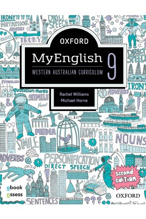 Oxford MyEnglish WA Curriculum - Year 9 (Second Edition): Student Book + obook/assess (Print & Digital)