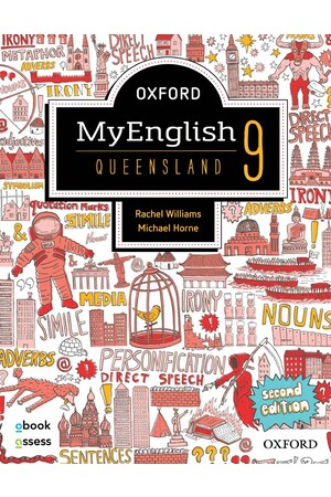 Oxford MyEnglish QLD Curriculum - Year 9: Student Book + obook/assess (Second Edition)
