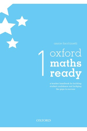 Oxford Maths Ready: Teacher Handbook - Year 1